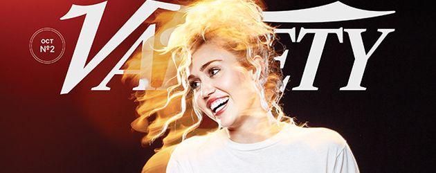 """Miley Cyrus auf dem Cover des """"Variety""""-Magazins"""