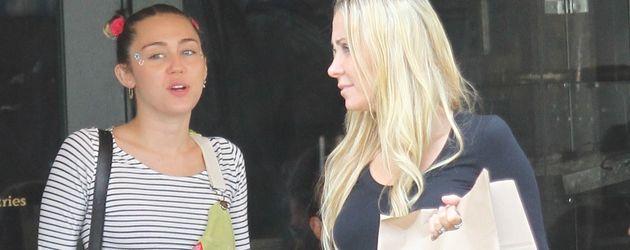 Miley Cyrus und Tish Cyrus