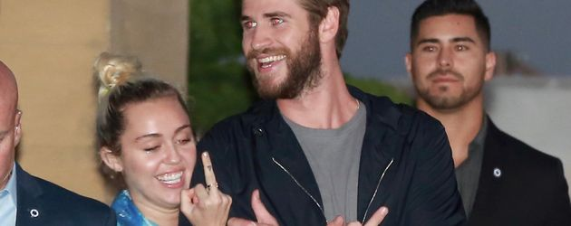 Miley Cyrus und Liam Hemsworth in Los Angeles