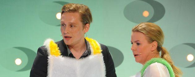 Matthias Schweighöfer und Mirja Boes