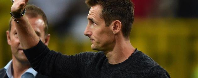 Miroslav Klose verabschiedet sich aus der Nationalmannschaft