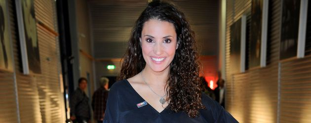 Nadine Menz beim RTL Spendenmarathon