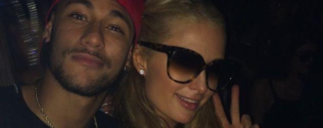 Paris Hilton und Neymar Jr.