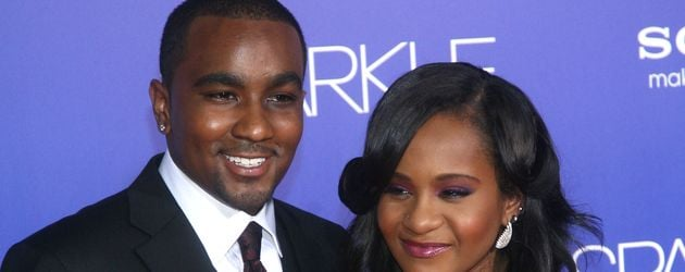 Nick Gordon und Bobbi Kristina 2012 in Hollywood