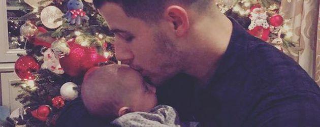 Nick Jonas und seine Nichte Valentina