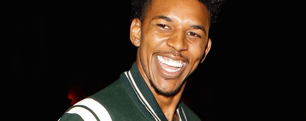 """Nick Young in der """"The Nice Guy""""-Bar in Los Angeles"""