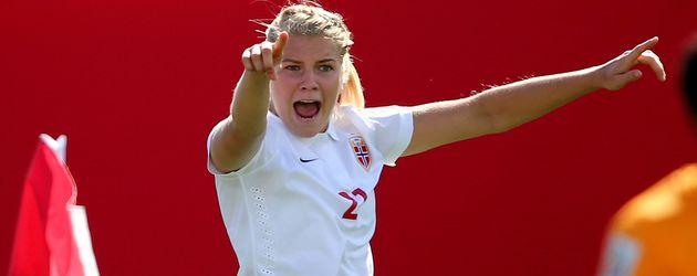 Norwegische Nationalfußballspielerin Ada Hegerberg