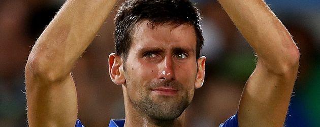 Novak Djokovic bei den Olympischen Spielen 2016