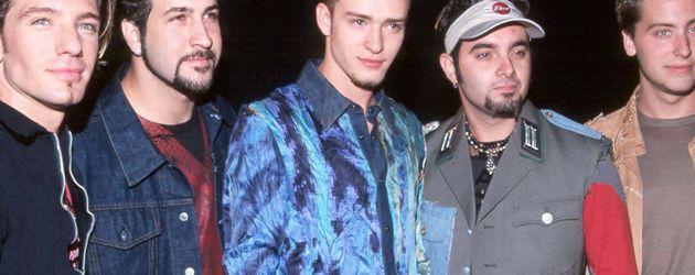 Justin Timberlake und Lance Bass