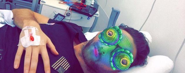 Ex-Bachelor Oliver Sanne im Krankenhaus