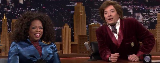 Jimmy Fallon und Oprah Winfrey
