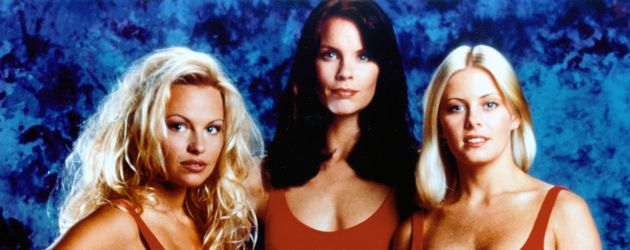 Pamela Anderson, Alexandra Paul und Nicole Eggert
