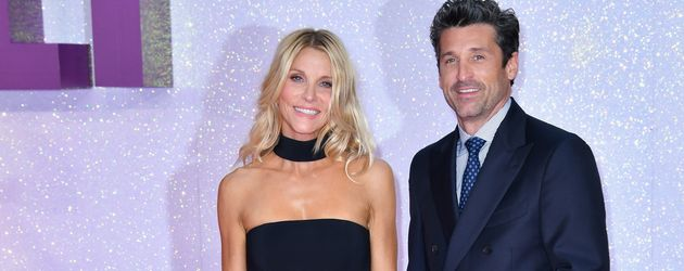 "Jillian Fink und Patrick Dempsey bei der Premiere von ""'Bridget Jones's Baby"" in London"