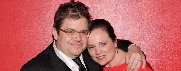 Patton Oswalt, Komiker und seine Frau Michelle McNamara