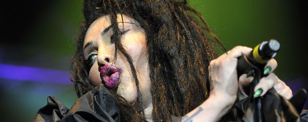 Pete Burns in der O2 Arena in London