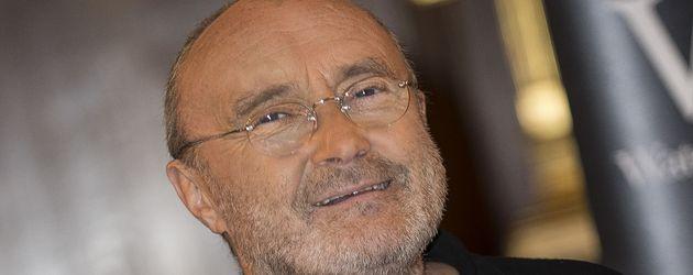 Phil Collins im Oktober 2016 bei der Präsentation seiner Autobiografie in London.