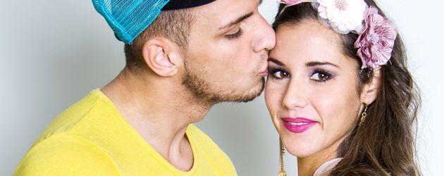 """Pietro und Sarah Lombardi für ihre RTL-II-Sendung """" Sarah & Pietro... bekommen ein Baby"""""""