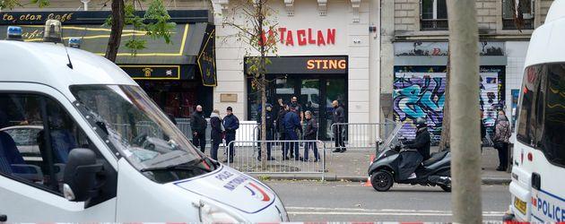 Das Baraclan in Paris im November 2016 vor dem Sting-Konzert