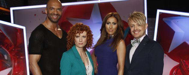Detlef D! Soost, Lucy Diakovska, Senna Gammour und Ross Antony