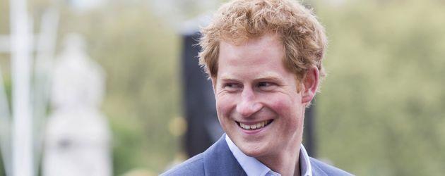 Prinz Harry bei einem Sportevent in London