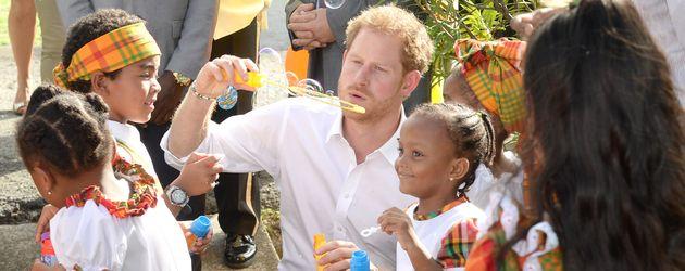 Prinz Harry auf Karibik-Reise in Antigua