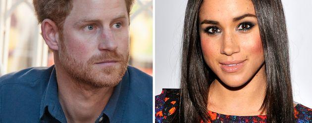Prinz Harry und seine Freundin Meghan Markle