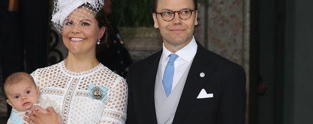 Prinzessin Estelle von Schweden, Prinzessin Victoria von Schweden, Prinz Oscar von Schweden