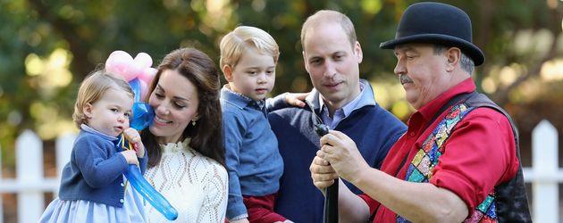 """Die britischen Royals beim """"Children's Party of Military families""""-Event in Kanada"""