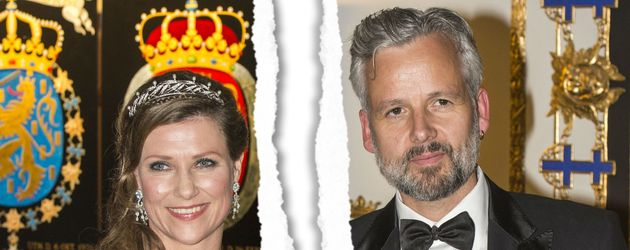 Prinzessin Märtha Louise von Norwegen & Ari Behn zu Gast in Stockholm