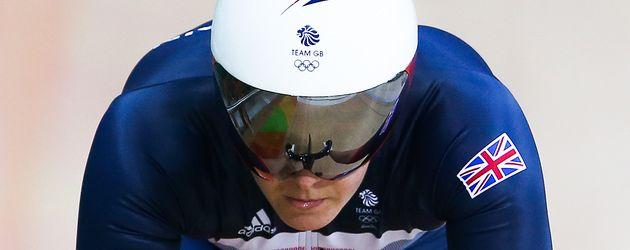 Radrennfahrerin Katy Marchant aus Großbritannien