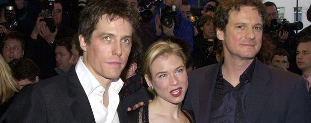 Hugh Grant, Renee Zellweger und Colin Firth (v.l.n.r.) im Jahr 2001