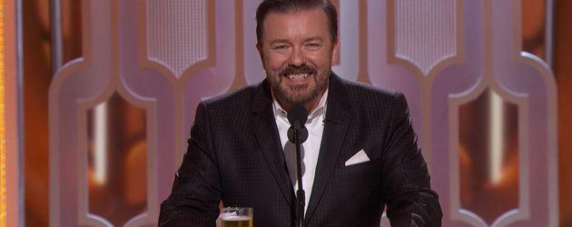 Ricky Gervais bei den Golden Globes 2016