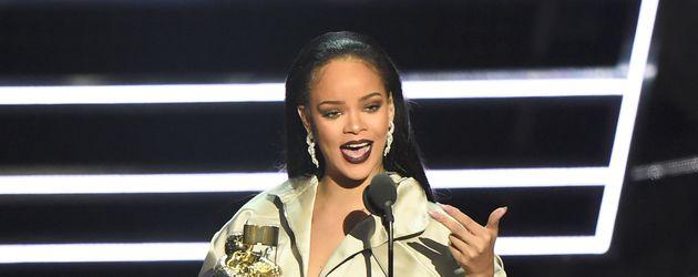 Rihanna auf der VMA-Bühne in New York