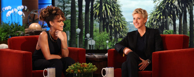 Rihanna und Ellen DeGeneres
