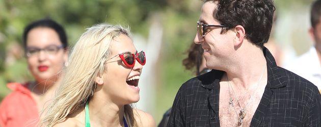 Rita Ora und Nick Grimshaw