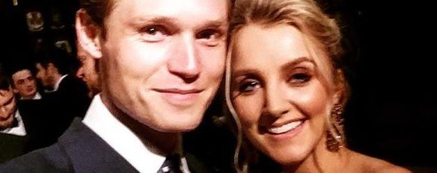 Robbie Jarvis und Evanna Lynch