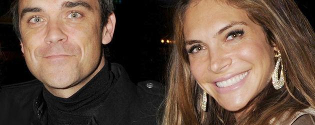 Robbie Williams und seine Frau Ayda