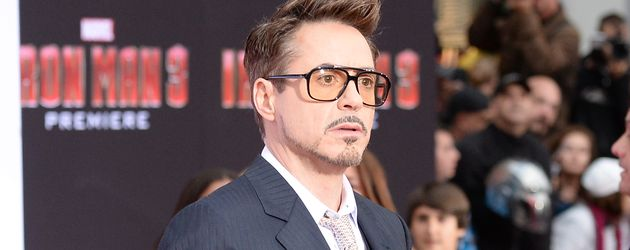 "Robert Downey Junior bei der Premiere von ""Iron Man 3"" in Hollywood"