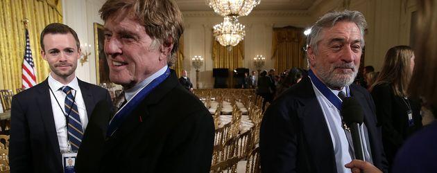 Robert Redford und Robert De Niro