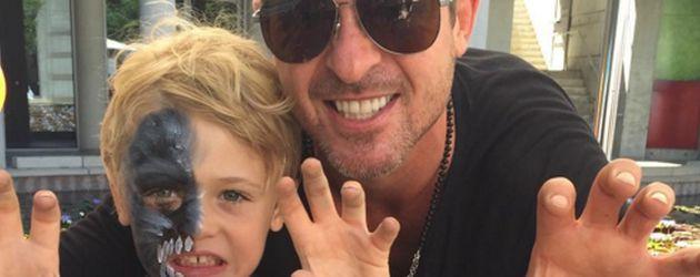 Robin Thicke und sein Sohn