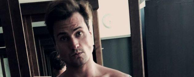 """Rocco Stark in """"Bieber-Pose"""""""