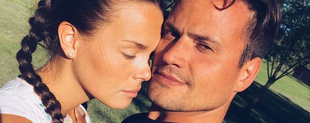 Rocco Stark mit seiner Freundin Nathalie