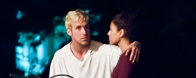 "Ryan Gosling und Eva Mendes am Set von ""The Place Beyond The Pines"""