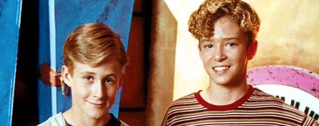 "Ryan Gosling und Justin Timberlake beim ""Mickey Mouse Club"""