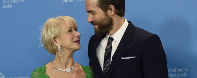 Ryan Reynolds und Helen Mirren