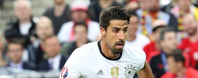 Sami Khedira beim EM-Spiel Deutschland gegen Polen