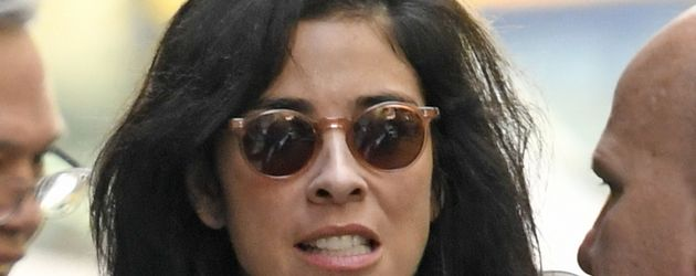 Sarah Silverman unterwegs in New York