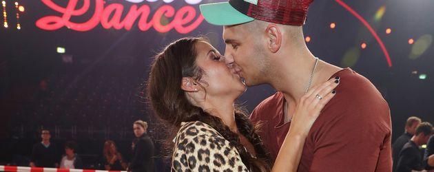 """Sarah und Pietro Lombardi beim Finale von """"Let's Dance"""" 2016"""