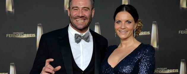 """Sasha und Julia Röntgen beim """"Deutschen Fernsehpreis 2014"""""""
