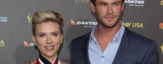 Chris Hemsworth und Scarlett Johansson